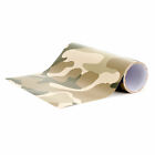 "Camo Camouflage Vinyl Wrap ""Desert Style"" Bubble Free UV protected - long life"