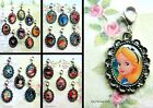 DISNEY CLIP ON CHARM PHONE HANDBAG BRACELET TINKERBELL UP FROZEN PAN INSIDE OUT