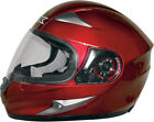 AFX FX90 Full-Face Motorcycle Helmet (Wine Red) Choose Size