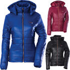 Divas Snow Gear Hooded Puffer Womens Skiing Winter Sled S...