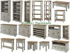 Premium Corona Grey Wash Living Room Furniture | Sideboard | Bookcase | Tv Unit