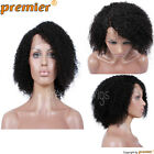 New Style Side Part Kinky Curl curly Natural Hairline Glueless  Human hair wigs