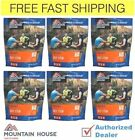 New Mountain House - Freeze dried foods , Pack of 6 pouches, FREE Shipping