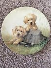 GONE FISHIN   Knowles Collector Plate   by Lynn Kaalz  Limited Edition