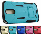 for LG Stylo 3 LS777 MECH Rugged Stand Case Phone Cover Accessory + Prytool