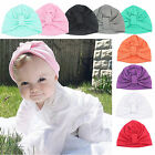 Baby Toddler Girl Boys Cap Size 18-24 Months Knot Turban Sweater Cotton Hat