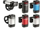 Lezyne KTV LED bicycle light set front and rear USB rechargeable bike cycle