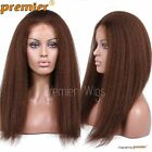 Lace Front Wigs Human Hair 4# Brown Lace Wig For Black Women Natural Hairline