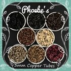 ~ Copper Tubes 3mm for I / Stick Tip Hair Extensions 8 Colours ~ Phoebe-s ~