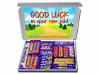 Good Luck in your New Job Personalised Chocolate Bars Retro Sweets Gift Hampers