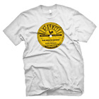 SUN RECORDS ELVIS PRESLEY BLUE MOON OF KENTUCKY  OFFICIALLY LICENSED TEE - WHITE