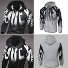 US STOCK Stylish Men's Slim Warm Hooded Sweatshirt Hoodie Coat Outwear Sweater