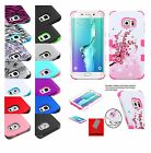 Внешний вид - For Samsung GALAXY S6 / Edge / Plus + HYBRID Shockproof Rubber Case Phone Cover