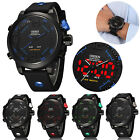 Kyпить Men's Military Dual Zone Display LED Digital Analog Alarm Sport Wrist Watch New на еВаy.соm