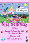 Ben and Holly's Little Kingdom Girls  Personalised Birthday Party Invitations