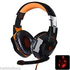 EACH G2000 Cool Light Stereo Gaming Headset with Hidden Mic for Computers Game