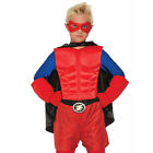 Superhero Red Costume Muscle Chest Child Standard