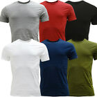 Levi Strauss T Shirt Mens Plain T-Shirts Short Sleeve Crew Neck Slim Fit 2 Pack