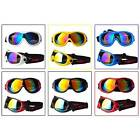 Sports Skiing Goggles Anti Fog Sand Wind UV Protection Bike Ski Glasses Unisex