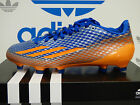 NEW ADIDAS Adizero 5-Star 3.0 Men's Football Cleats - Blue/Orange;  C75515