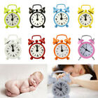 New Home Outdoor Portable Lovely Cartoon Dial Number Round Desk Alarm Clock Deco