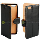 Premium Real Leather Wallet Flip Case Cover for iPhone & Samsung Galaxy