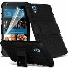 HTC One A9 Premium Shock Proof Rugged Case + Screen Protector + S pen