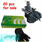 New Arrival 20PCS Tattoo Accessories Rubber Gloves Black Color