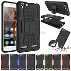Hybrid Shockproof Rugged PC + TPU Kickstand Armor Case Cover For Lenovo Series