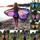 Butterfly Wings Soft Shawl Cape Fairy Ladies Nymph Pixie Costume Accessory