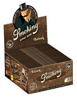 1 Box Smoking BROWN King Size Papers 50 Heftchen x 33 Blättchen Long Paper