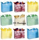 *U CHOOSE* 16x12x6 Large Clear Frosted Plastic Tote Retai...