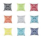 TreeWool, (2 Pack) Cotton Canvas Damask Accent Decorative Throw Pillow Covers