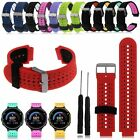 22MM Silicone Wristband Watch Straps For Garmin Forerunner 235 630 GPS Watch
