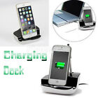 For iPhone Samsung Desktop Sync Data USB Cradle Charger Docking Station Stand