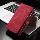 Luxury Premium Leather Flip Wallet Phone Case Cover for iPhone 6 6S Plus 7 Plus