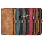 Luxury Genuine Leather Flip Wallet Phone Case Cover for iPhone 6 6S Plus 7 Plus