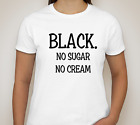 Women's Fashionable Afrocentric Ladies style White T-Shirt With A Statement