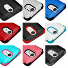 for LG ARISTO / K8 2017 / LV3 - Hybrid Shockproof Armor Impact Phone Case Cover