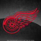 "Detroit Red Wings NHL Vinyl Decal Sticker - 4"" and Larger - 30+ Color Options! $3.89 USD on eBay"