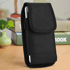 Vertical Leather Case Cover Pouch Holster With Belt Clip For Large Cell Phone