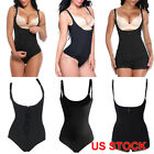 Women Full Body Shaper High Compression Strappy Waist Trainer Corset Shapewear #