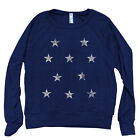 ON SALE STARS Women Pullover American Apparel Tri-Blend Light Weight Raglan