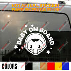 Baby On Board Nippled Cute Baby Car Truck Window Vinyl Decal Bumper Sticker