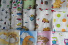 1 x MUSLIN SQUARE 70X80 100% Cotton SELECTION of 40 GIFT WITH EVERY 3