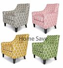 New Richmond Club Chair Armchair Grey Yellow Pink Green Accent Chair Sofa