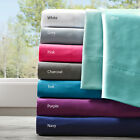 SOFT PLUSH COZY WARM MICROFIBER SHEET SET FITTED FLAT & CASES WRINKLE FREE NEW! image
