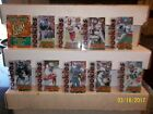 "1995 Fleer Ultra Football All Rookie Team ""Hot Pak"" 1-10"