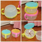 Cute Baby Toddler No Spill Active Snack Snacker Bowl Cup Container Free Hot Sale