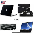 Sleeve Bag Hard Case Keyboard Cover LCD For Macbook Air Pro Retina 11 13 15 16""